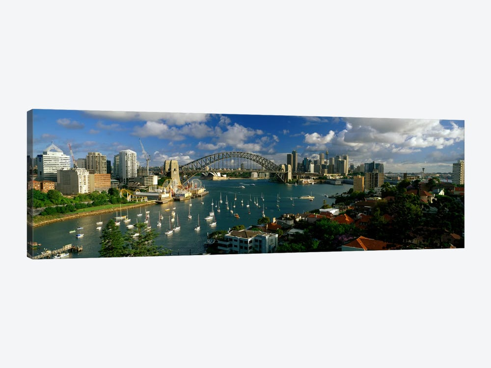 Sydney Harbour Bridge (The Coathanger), Sydney, Australia by Panoramic Images 1-piece Canvas Art