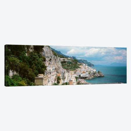 Amalfi Coast, Salerno, Italy Canvas Print #PIM2239} by Panoramic Images Canvas Wall Art