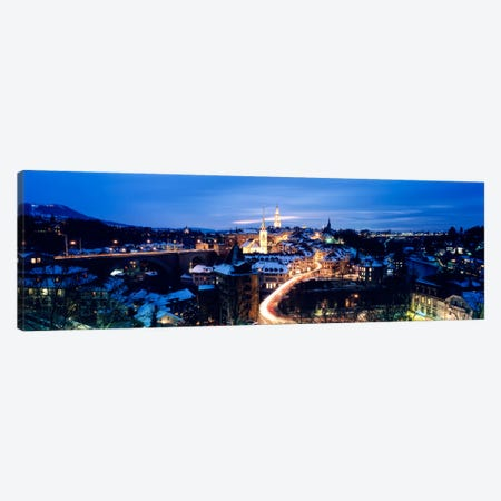 Night Bern Switzerland Canvas Print #PIM2242} by Panoramic Images Canvas Print