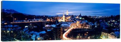 Night Bern Switzerland Canvas Print #PIM2242