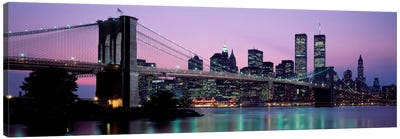Brooklyn Bridge New York NY USA Canvas Print #PIM2244