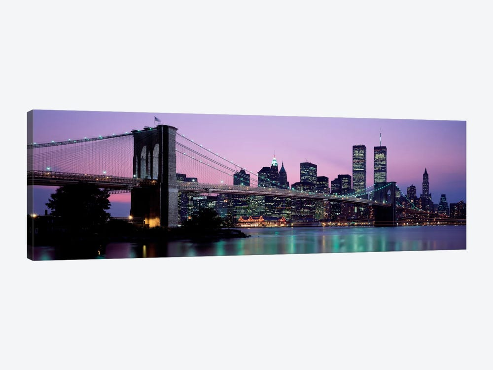 Brooklyn Bridge New York NY USA by Panoramic Images 1-piece Art Print