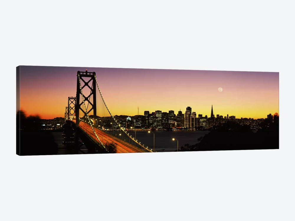 Bay Bridge San Francisco CA USA by Panoramic Images 1-piece Canvas Art