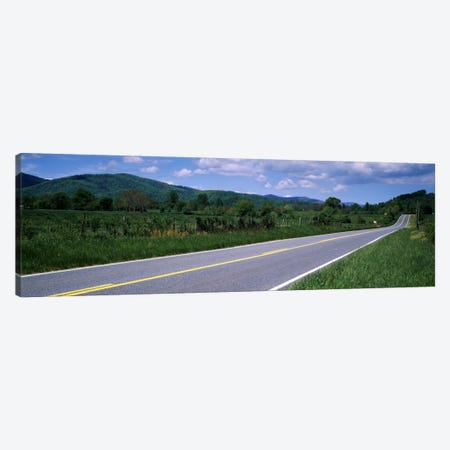Road passing through a landscape, Virginia State Route 231, Madison County, Virginia, USA Canvas Print #PIM2247} by Panoramic Images Canvas Art
