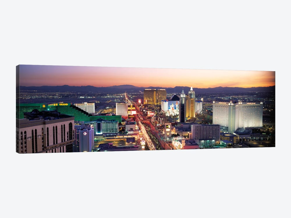 The Strip Las Vegas NV USA by Panoramic Images 1-piece Art Print