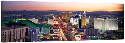 The Strip Las Vegas NV USA Canvas Art Print