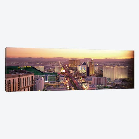 The Strip, Las Vegas, Nevada, USA Canvas Print #PIM2249} by Panoramic Images Canvas Print