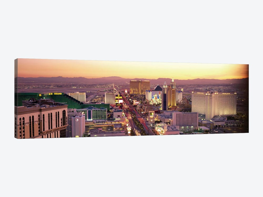 The Strip, Las Vegas, Nevada, USA 1-piece Canvas Wall Art