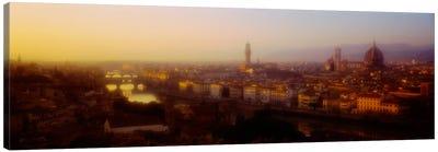 Orange Twilight, Florence, Italy Canvas Print #PIM2251