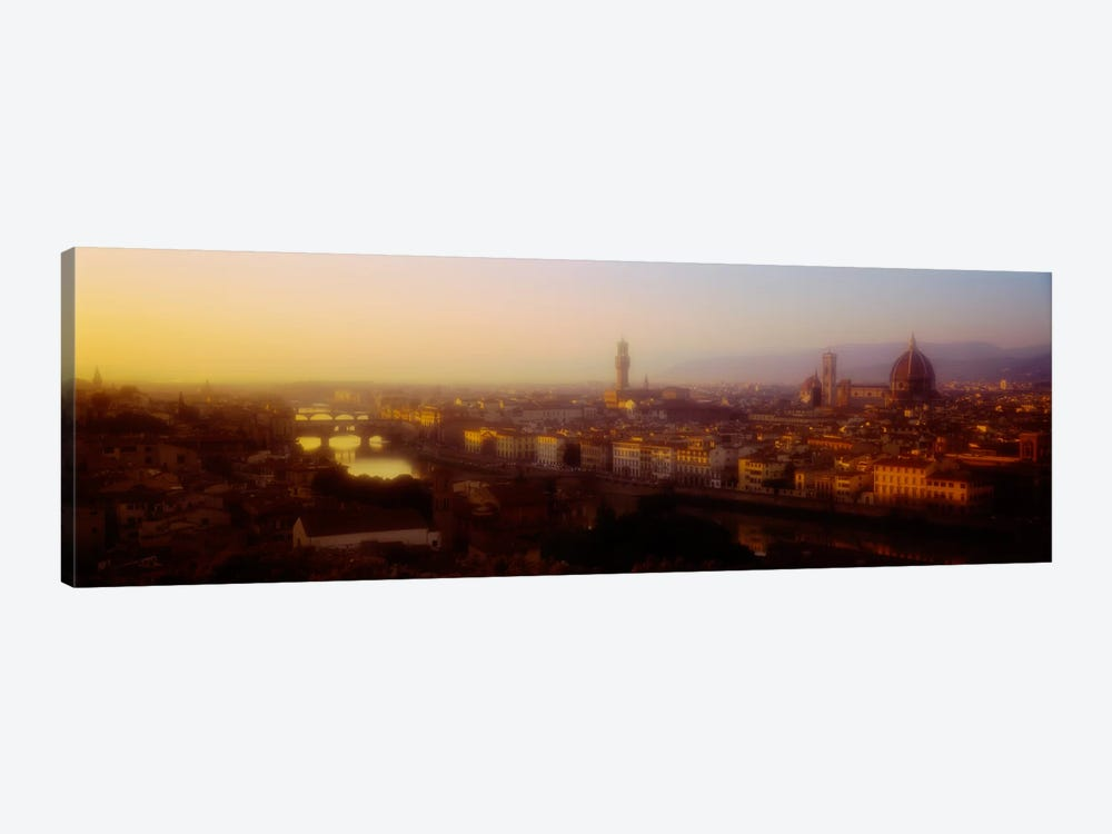 Orange Twilight, Florence, Italy by Panoramic Images 1-piece Canvas Print