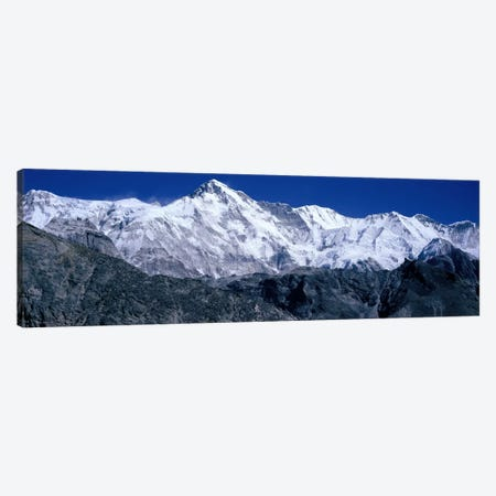 Cho Oyu from Goyko Valley Khumbu Region Nepal Canvas Print #PIM2252} by Panoramic Images Canvas Wall Art
