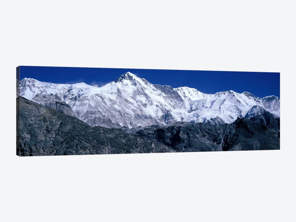 Cho Oyu from Goyko Valley Khumbu Region Nepal by Panoramic Images 1-piece Canvas Artwork