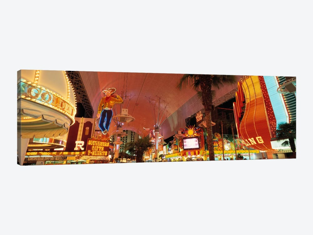 Fremont Street Experience Las Vegas NV USA #2 by Panoramic Images 1-piece Art Print