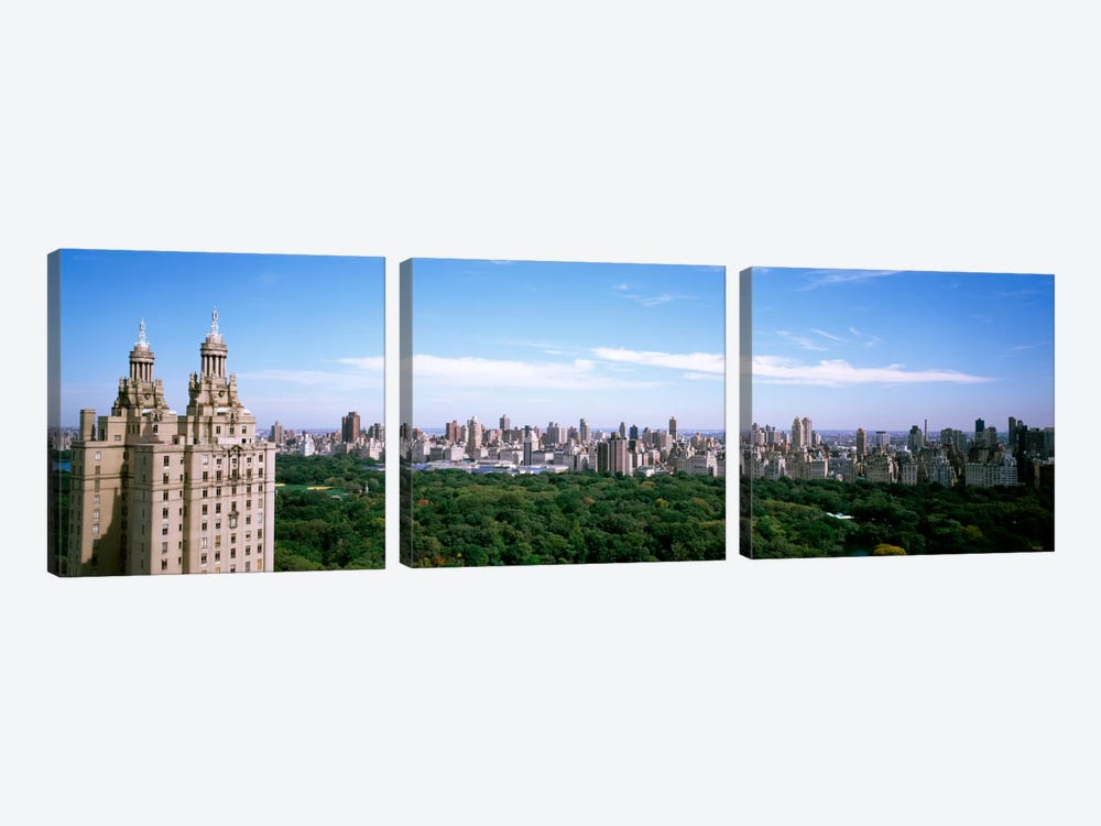 Cityscape Of New York, NYC, New York City, New York State, USA by Panoramic Images 3-piece Art Print
