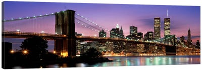 Brooklyn Bridge New York NY USA Canvas Print #PIM2272