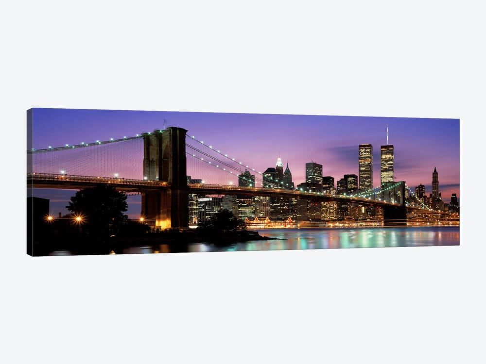 Brooklyn Bridge New York NY USA by Panoramic Images 1-piece Canvas Art
