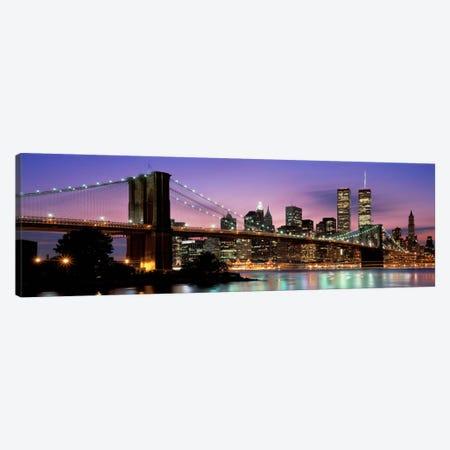 Brooklyn Bridge New York NY USA Canvas Print #PIM2272} by Panoramic Images Canvas Artwork