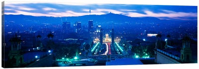 Barcelona Spain Canvas Art Print