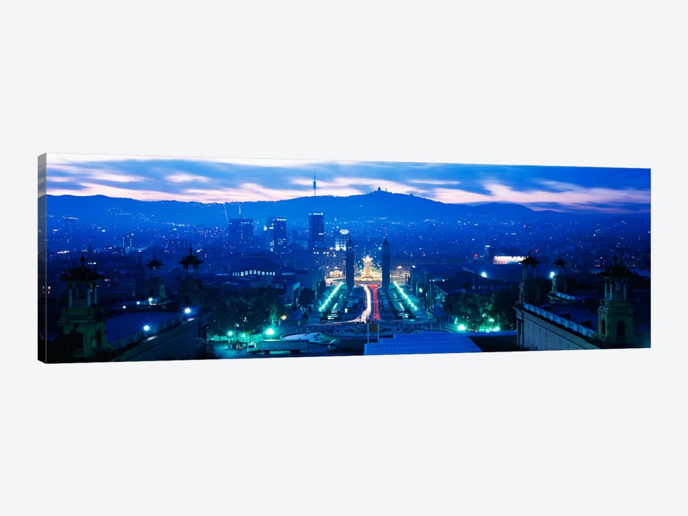 Barcelona Spain by Panoramic Images 1-piece Canvas Artwork