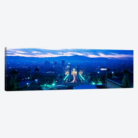Barcelona Spain Canvas Print #PIM2276} by Panoramic Images Art Print