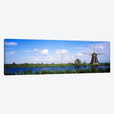 Windmill Holland Canvas Print #PIM2277} by Panoramic Images Canvas Art Print