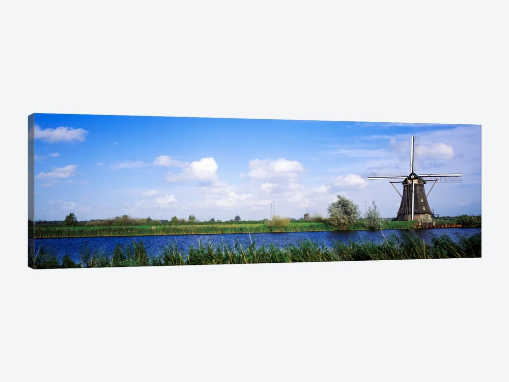Windmill Holland by Panoramic Images 1-piece Canvas Print