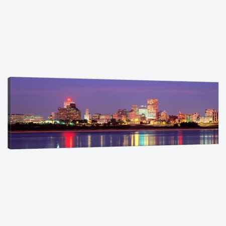 Dusk, Memphis, Tennessee, USA Canvas Print #PIM2278} by Panoramic Images Canvas Art
