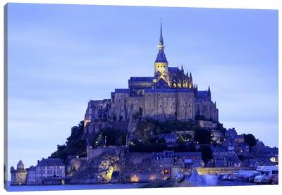 Mont St Michel Brittany France Canvas Print #PIM2280