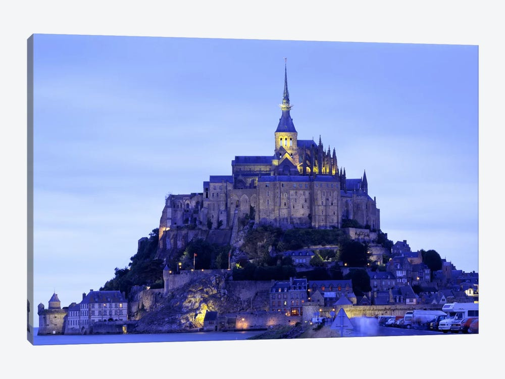 Mont St Michel Brittany France by Panoramic Images 1-piece Canvas Art Print
