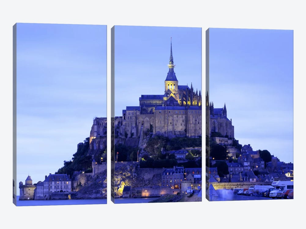 Mont St Michel Brittany France by Panoramic Images 3-piece Art Print