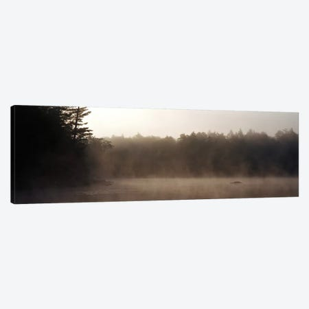 Morning Mist Adirondack State Park Old Forge NY USA Canvas Print #PIM2294} by Panoramic Images Art Print