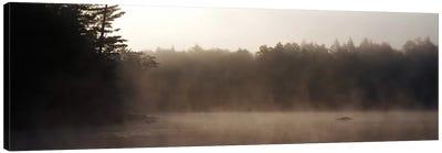 Morning Mist Adirondack State Park Old Forge NY USA Canvas Print #PIM2294