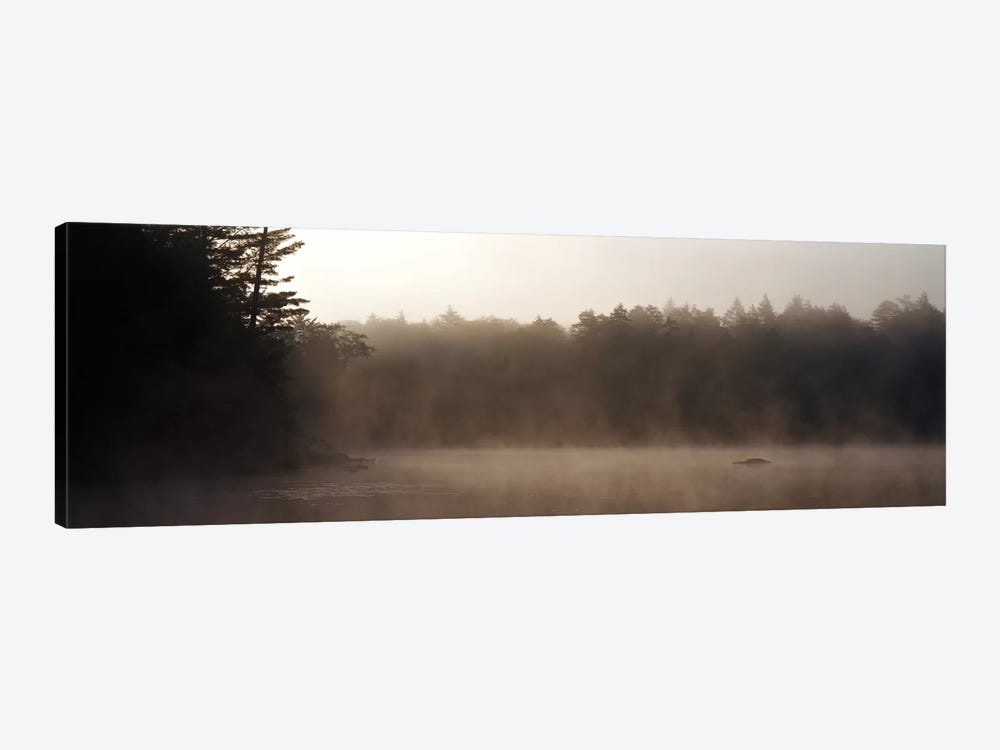 Morning Mist Adirondack State Park Old Forge NY USA by Panoramic Images 1-piece Canvas Art
