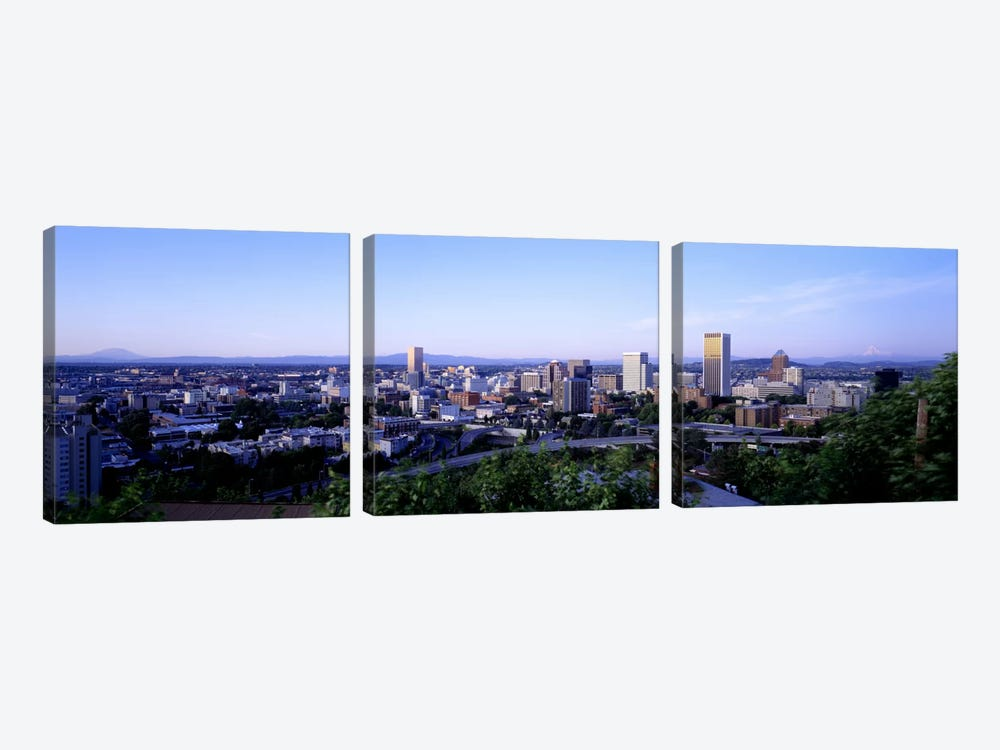Portland OR USA 3-piece Art Print