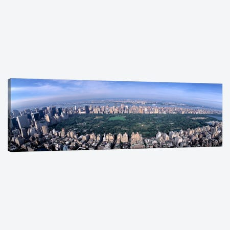 Aerial Central Park New York NY USA Canvas Print #PIM2313} by Panoramic Images Canvas Print