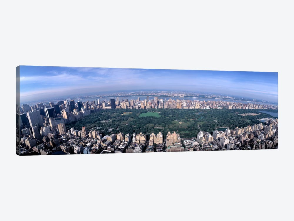 Aerial Central Park New York NY USA by Panoramic Images 1-piece Canvas Artwork