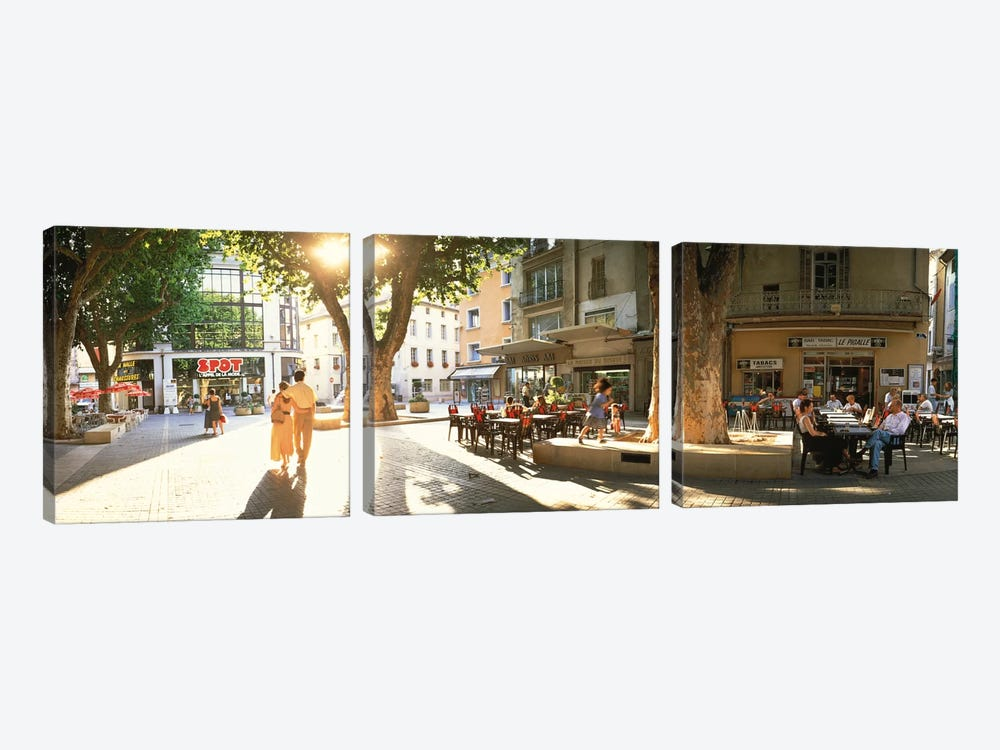 Cafe Provence France by Panoramic Images 3-piece Art Print