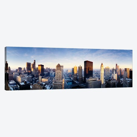 Downtown Skyline II, Chicago, Illinois, USA Canvas Print #PIM231} by Panoramic Images Canvas Print