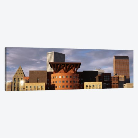 Skyscrapers In The City, Denver, Colorado, USA Canvas Print #PIM2320} by Panoramic Images Canvas Wall Art