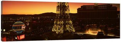 High Angle View Of A City, Las Vegas, Nevada, USA #2 Canvas Print #PIM2325