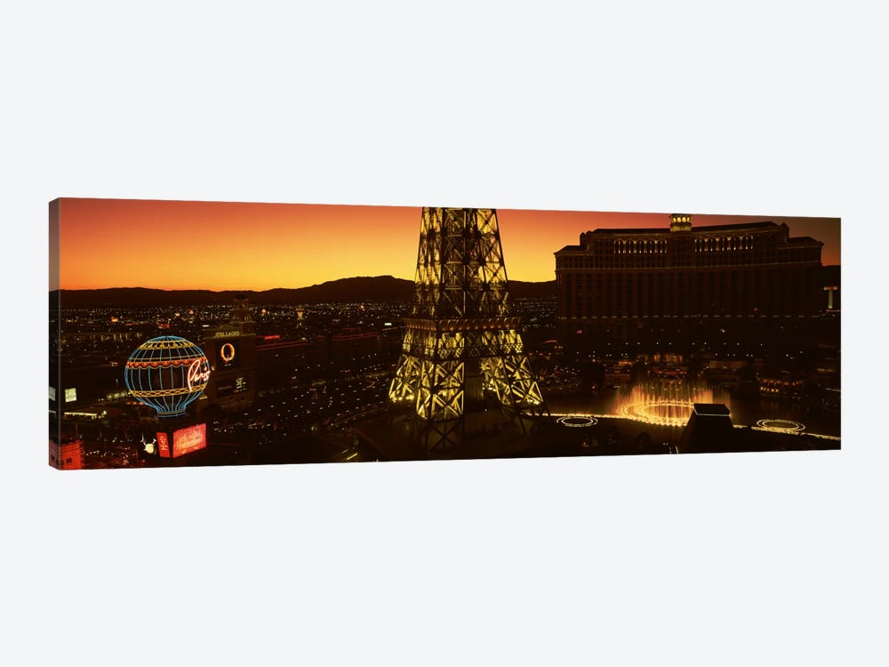 High Angle View Of A City, Las Vegas, Nevada, USA #2 by Panoramic Images 1-piece Canvas Art Print