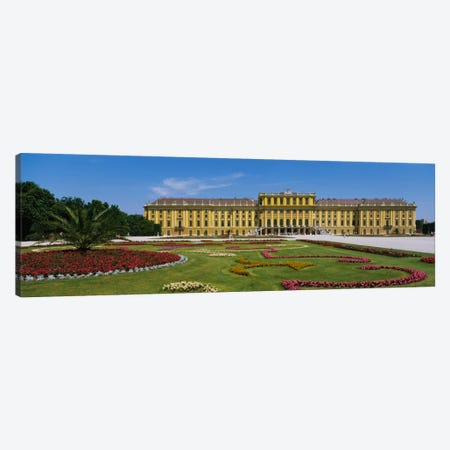 Facade of a building, Schonbrunn Palace, Vienna, Austria Canvas Print #PIM2327} by Panoramic Images Canvas Print