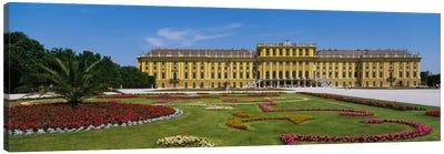Facade of a building, Schonbrunn Palace, Vienna, Austria Canvas Art Print
