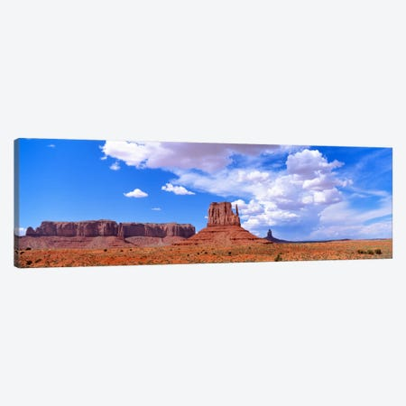 Monument Valley Tribal Park AZ USA Canvas Print #PIM2339} by Panoramic Images Art Print