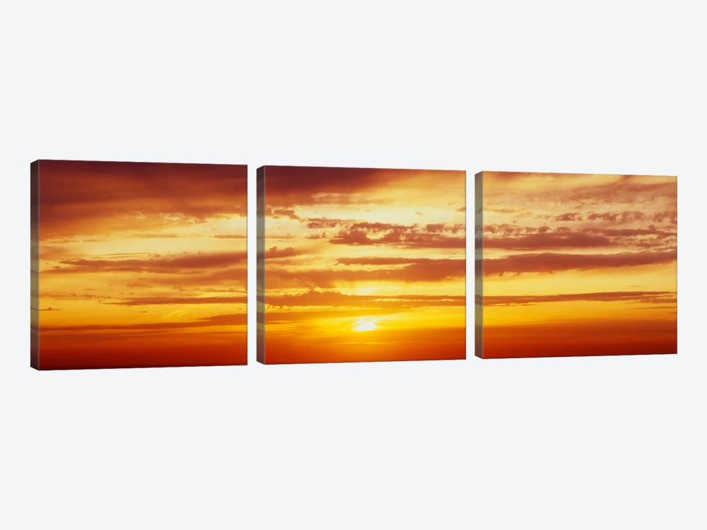 Santorini, Greece by Panoramic Images 3-piece Canvas Artwork