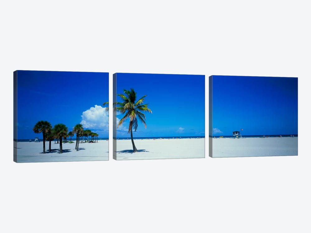 Miami FL USA #2 by Panoramic Images 3-piece Canvas Artwork
