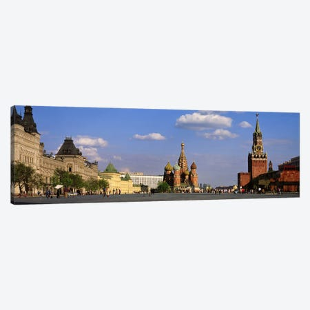 Red Square (Krasnaya Ploshchad), Moscow, Russia Canvas Print #PIM2347} by Panoramic Images Canvas Art Print
