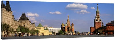 Red Square (Krasnaya Ploshchad), Moscow, Russia Canvas Art Print