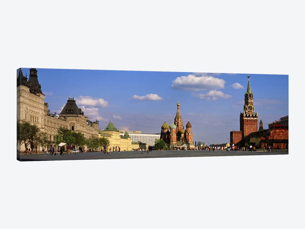 Red Square (Krasnaya Ploshchad), Moscow, Russia by Panoramic Images 1-piece Canvas Print