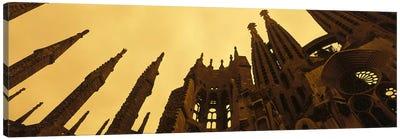 La Sagrada Familia Barcelona Spain Canvas Print #PIM2348